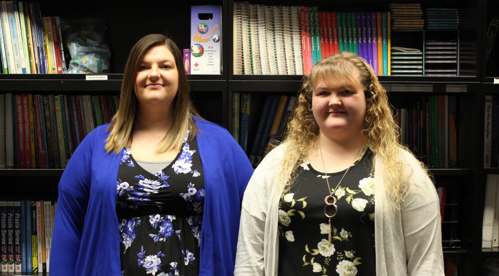 From left: Meghan Sinclair, Baylee O'Brian, Roane County Schools