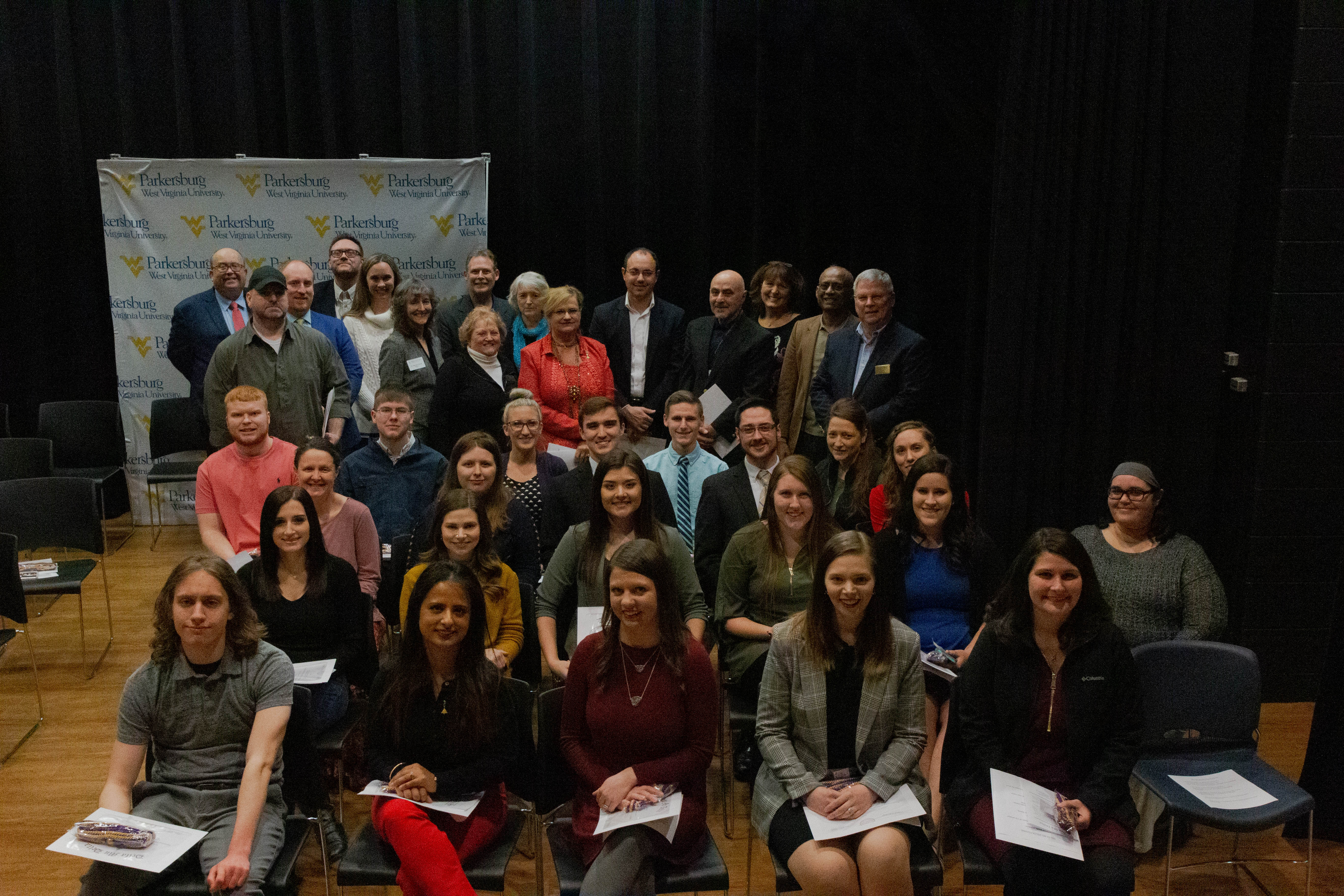 WVU Parkersburg inducts founding members of Delta Mu Delta honor society chapter