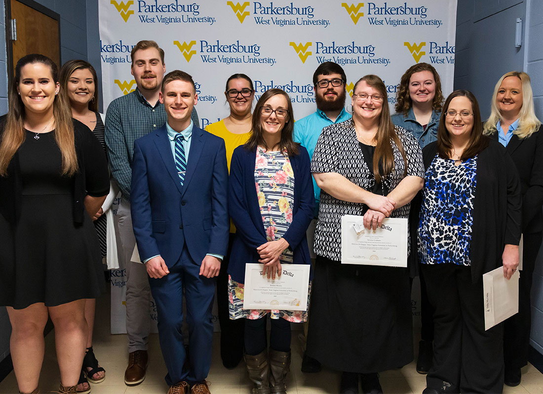 WVU Parkersburg inducts new members to the Delta Mu Delta honor society chapter