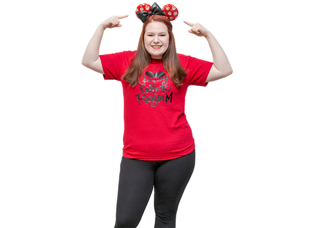 WVU Parkersburg Elementary Education major, Rachael Flanagan, is accepted into the Disney College Program