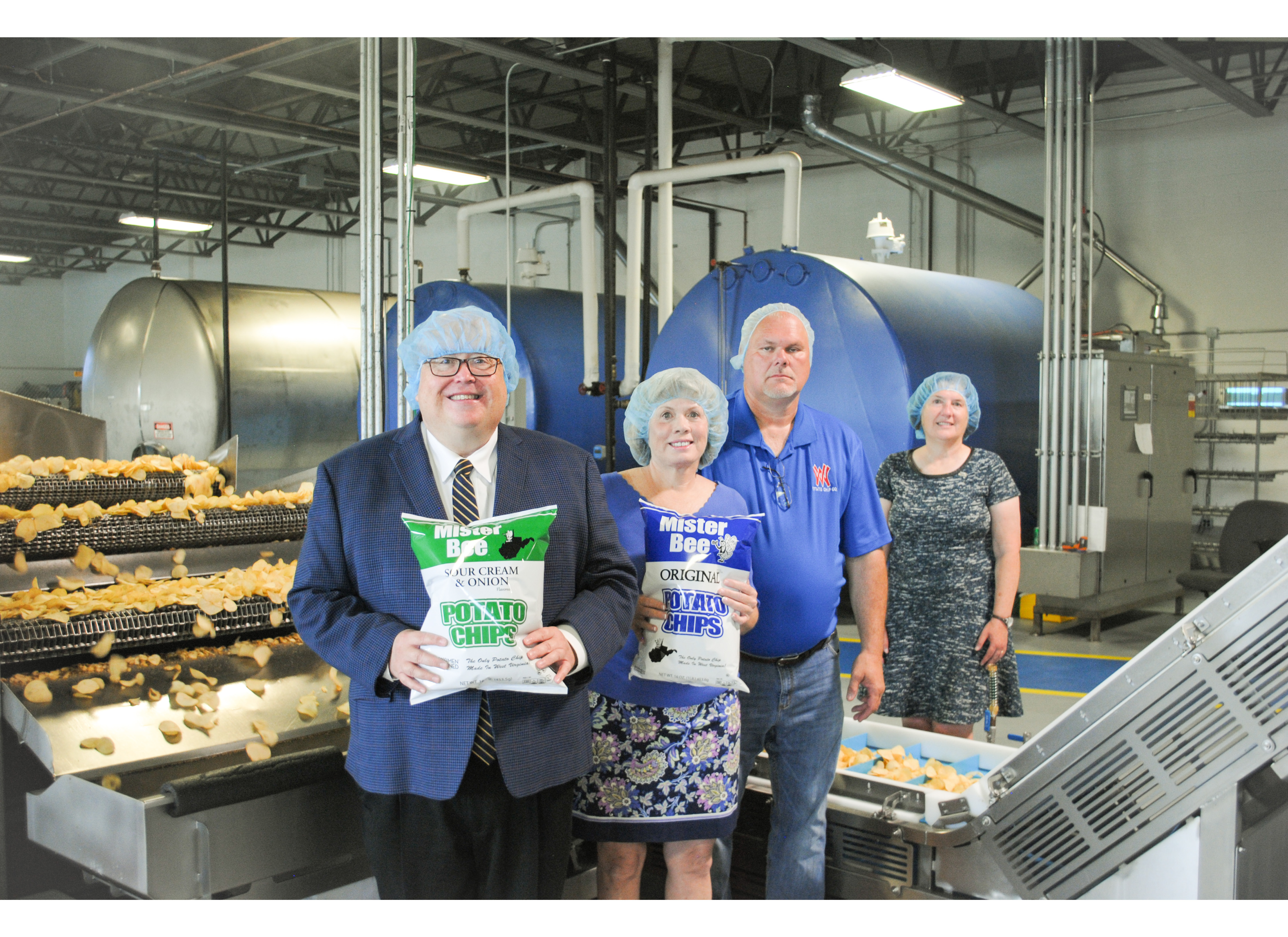 WVU Parkersburg forms partnership with the West Virginia Potato Chip Company, Mister Bee Potato Chips