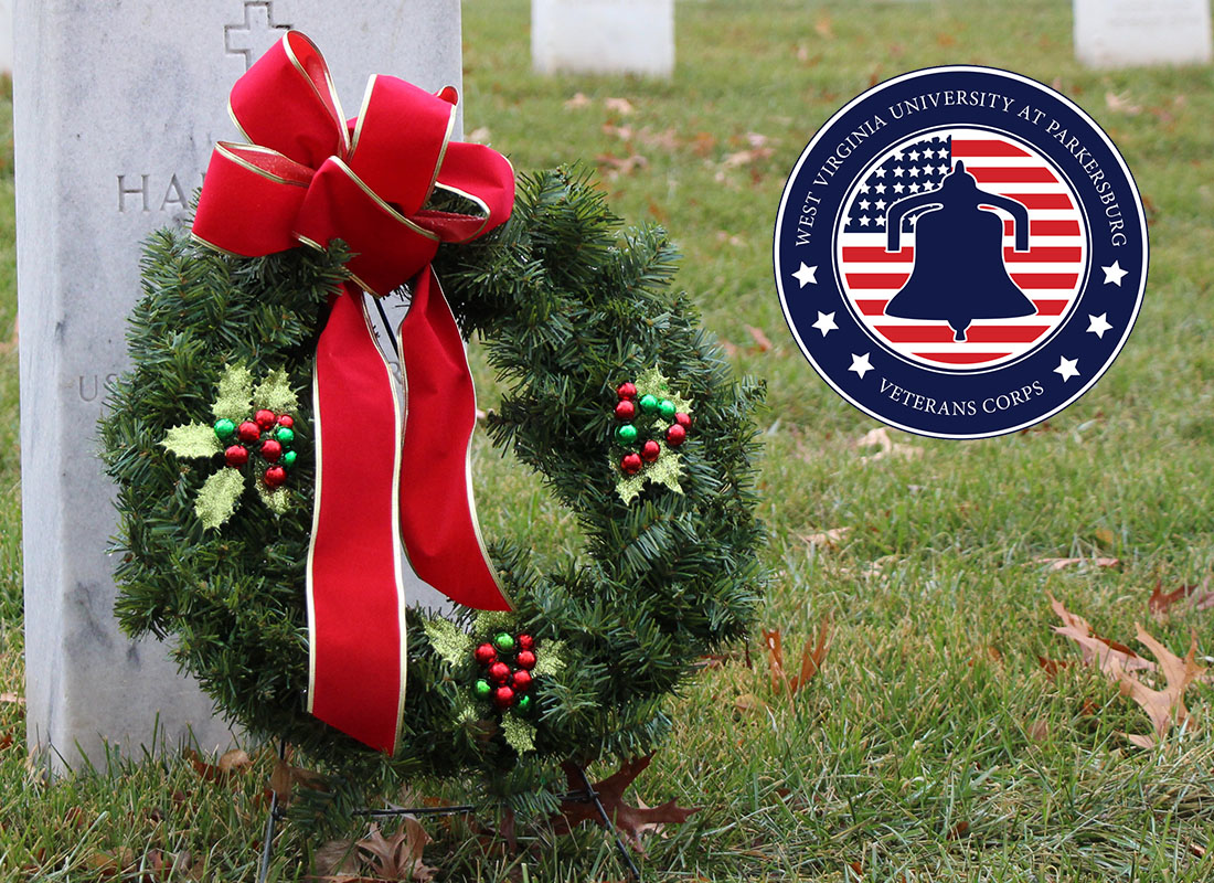 WVU Parkersburg Veteran Corps Teams Up with the Wood County Marine Corps League to Take Part in Wreaths Across America
